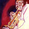 Jazzman Cootie Williams by David Lloyd Glover