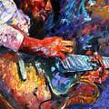 Jazzy Guitar by Debra Hurd