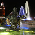J.c. Nichols Fountain-kc,mo-4967 by Gary Gingrich Galleries