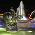 J.c. Nichols Fountain-4981 by Gary Gingrich Galleries