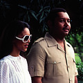 Jean-claude Duvalier And Michelle Bennett by Johnny Sandaire