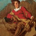 Jean-claude Richard Abbe Of Saint-non by Jean-Honore Fragonard