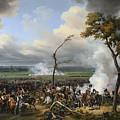 Jean Horace Vernet   The Battle Of Hanau by PixBreak Art