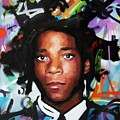 Jean, Michel, Basquiat II by Richard Day