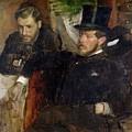 Jeantaud Linet And Laine by Edgar Degas