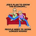 Jeb Bush by Sean Corcoran