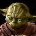 Jedi Yoda by Sergey Lukashin