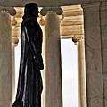 Jefferson Memorial 1  by Mark D Johnson