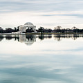 Jefferson Memorial And Tidal Basin by SR Green