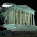 Jefferson Memorial At Night by Ben Schumin