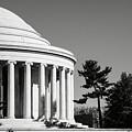 Jefferson Memorial Building In Washington Dc by Brandon Bourdages