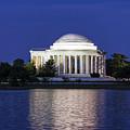 Jefferson Memorial Dusk by John Greim