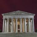 Jefferson Memorial by Erika Fawcett