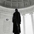 Jefferson Memorial Statue by Brandon Bourdages