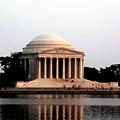 Jefferson Monument After Sunset by Douglas Barnett