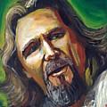 Jeffrey Lebowski The Dude by Buffalo Bonker