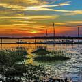 Jekyl Island Sunset by William Randolph
