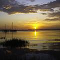Jekyll Island Sunset by Elizabeth Eldridge