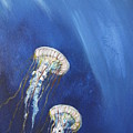 Jellyfish In Unison by Gary Smith