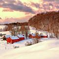 Jenne Farm After The Storm by John Vose