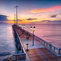 Jennette's Pier - Dawn 7080 by Dan Beauvais