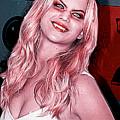Jennifer Lawrence by Gene Spino