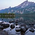 Jenny Lake Dawn by Adam Pender