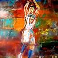 Jeremy Lin New York Knicks by Leland Castro