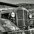 Jerome Az Old Truck Junkyard Arizona Rusted Trucks Mountain by Toby McGuire