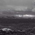Jerome State Park With Sedona Storm by Ron Chilston
