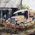 Jeromes Tank Truck by Sam Sidders