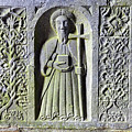 Jerpoint Abbey Weepers Saints James Philip And Matthias County Kilkenny Ireland by Shawn O'Brien