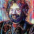 Jerry Garcia Art - The Grateful Dead by Ryan Rock Artist