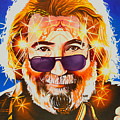Jerry Garcia-dark Star by Joshua Morton