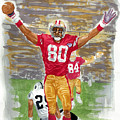 Jerry Rice The Greatest by George  Brooks