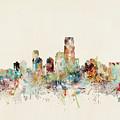 Jersey City New Jersey Skyline by Bri Buckley