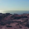 Jersey Island, Panorama Of Lighthouse Corbiere  by Ariadna De Raadt