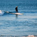 Jersey Shore Surfer by Arlane Crump