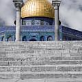 Jerusalem - The Dome by Munir Alawi