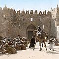 Jerusalem: Caravan, C1919 by Granger
