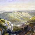 Jerusalem From The South by Munir Alawi
