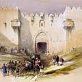 Jerusalem Gate by Munir Alawi