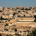 Jerusalem by Mae Wertz