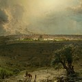 Jerusalem View From The Mount Of Oliv by MotionAge Designs