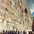 Jerusalem  Wailing Wall - To License For Professional Use Visit Granger.com by Granger