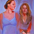 Jessica And Kate by John Tartaglione