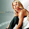 Jessica Simpson by Dorothy Binder