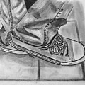 Jessicas Sneakers by David Reniere