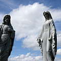 Jesus And Mary by Bob Christopher