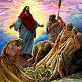 Jesus Appears To The Fishermen by John Lautermilch